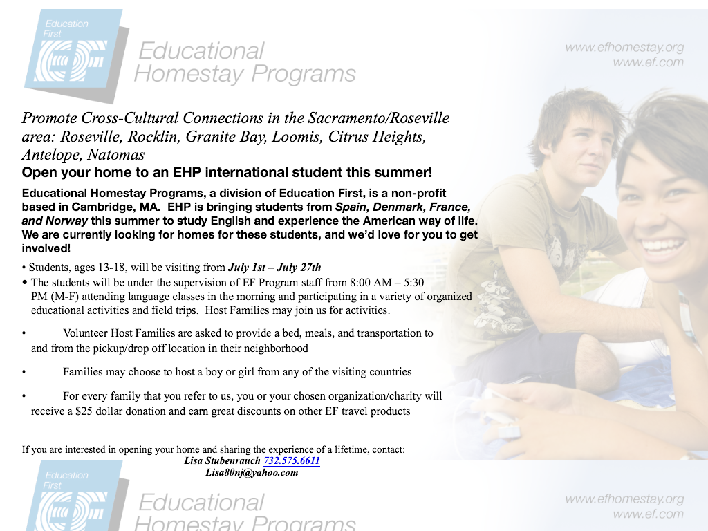 Educational Home Stay