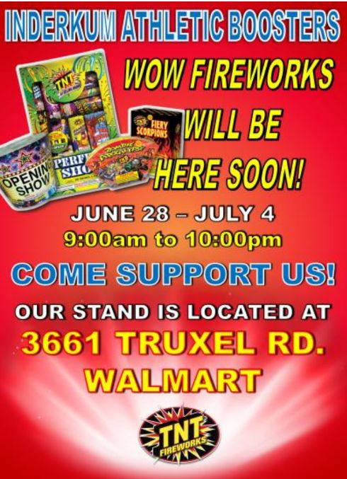 Your Fireworks Purchase Benefits IHS Athletics!